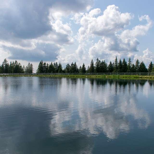 Lake on Rogla