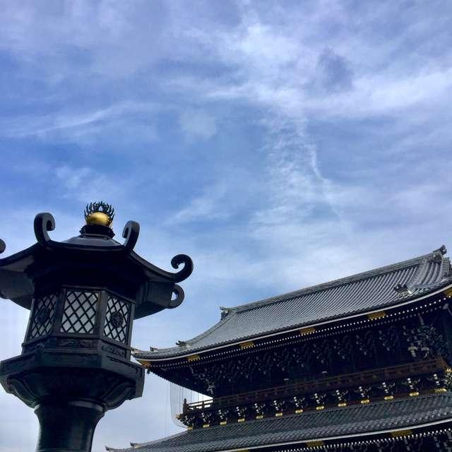 東本願寺の空