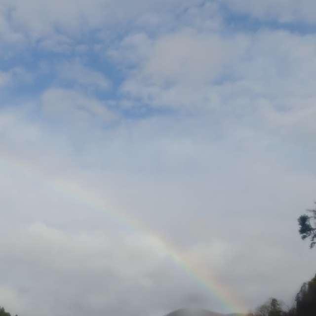 雨上がりの虹🌈パート3