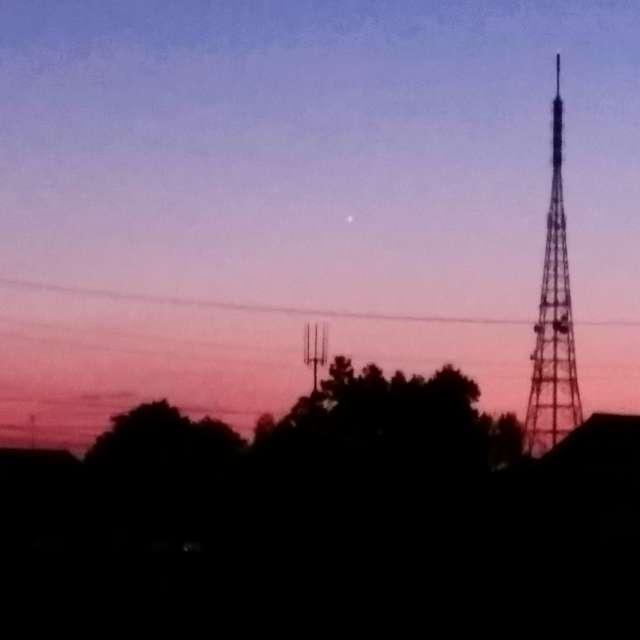宵の明星 The evening star,Venus