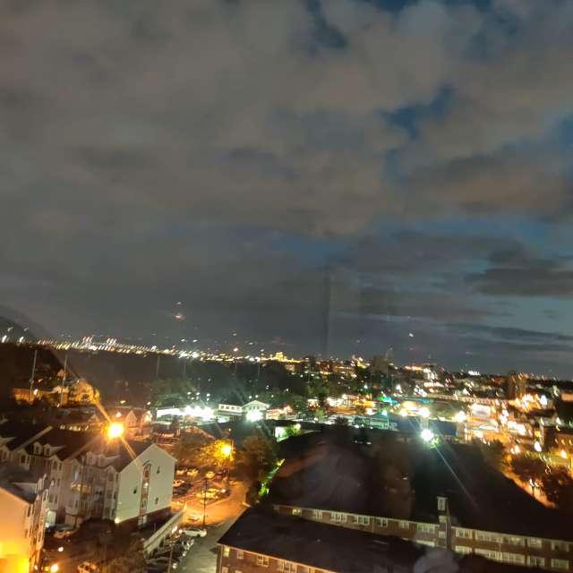 The night in Elizabeth.