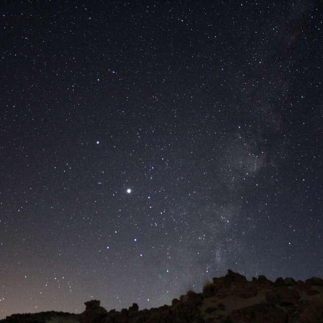 Sky at Teide