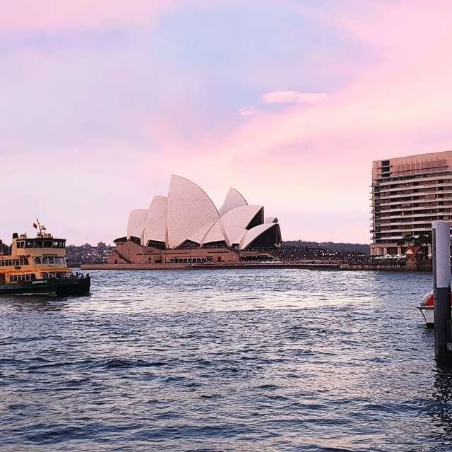 Opera & Bay_Sydney  Australia