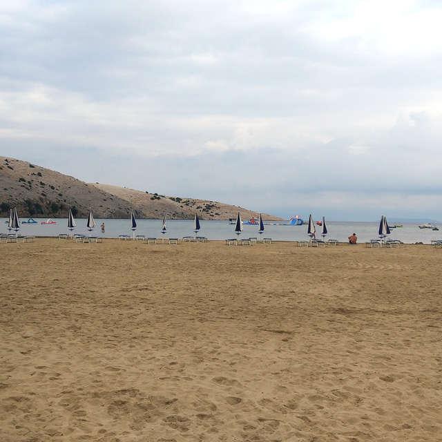 Lopar beach in Lopar