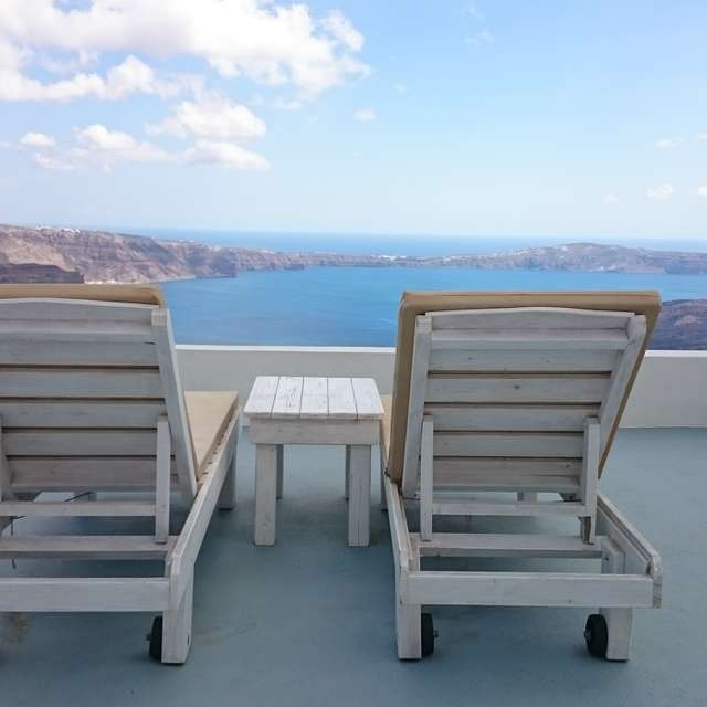 @Santorini chill out