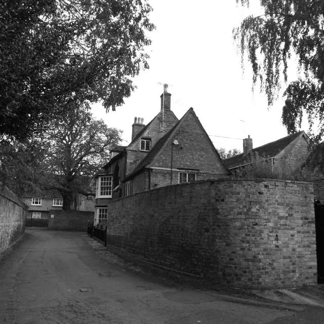 中世の古い路地