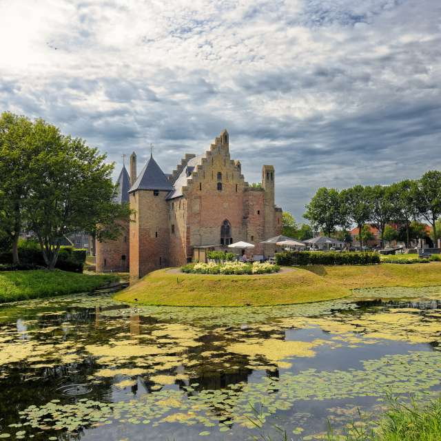 Radboud Castle and Clouds