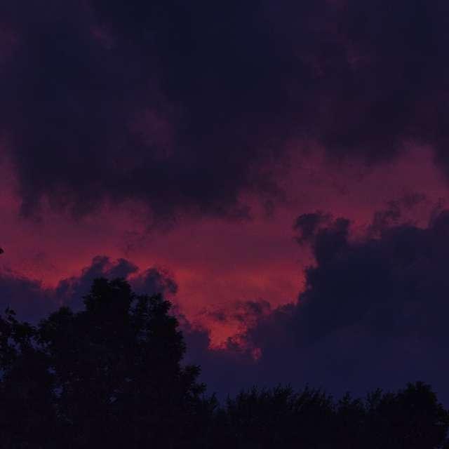 Cloudy sunset 2
