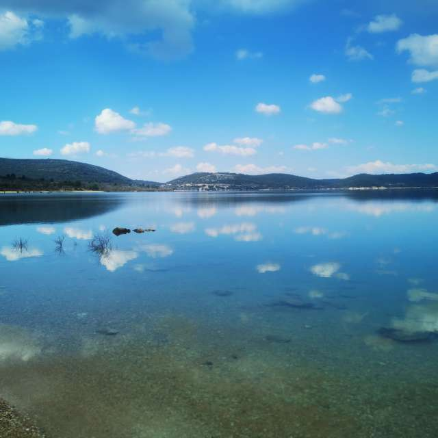 Lac miroir Bauduen
