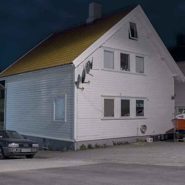 Starvanger at night