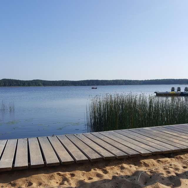 Лодка. Озеро. Лето