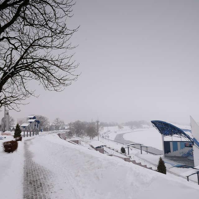 зима погода снег природа