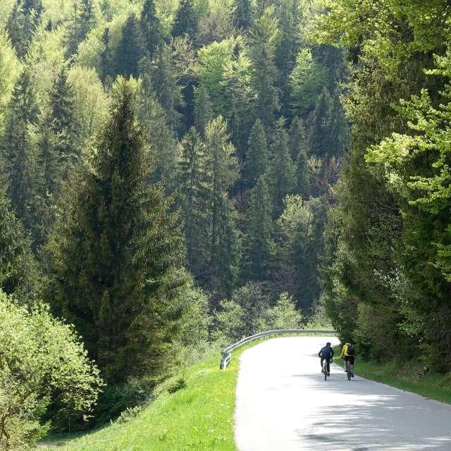 Slovakia mountains, bike ride