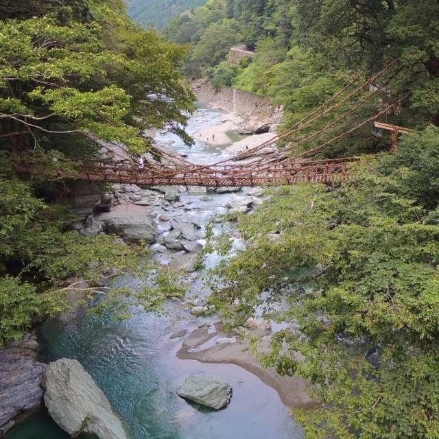 ★徳島県 祖谷の蔓橋★Japan