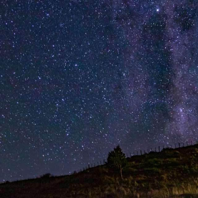Milky Way over Coyhaique Chile