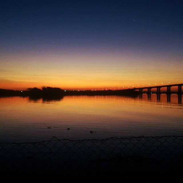 sunset Guaiba