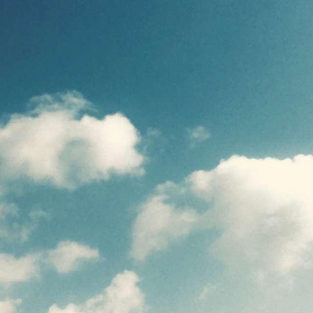 ノスタルジックな空