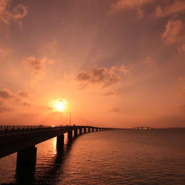宮古島の夕景