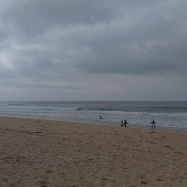 Dia na praia