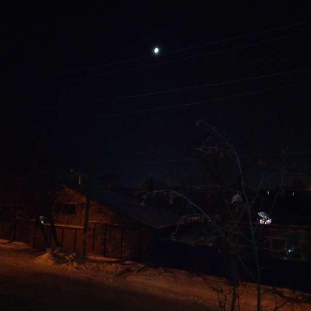Молодая Луна над Шарташом