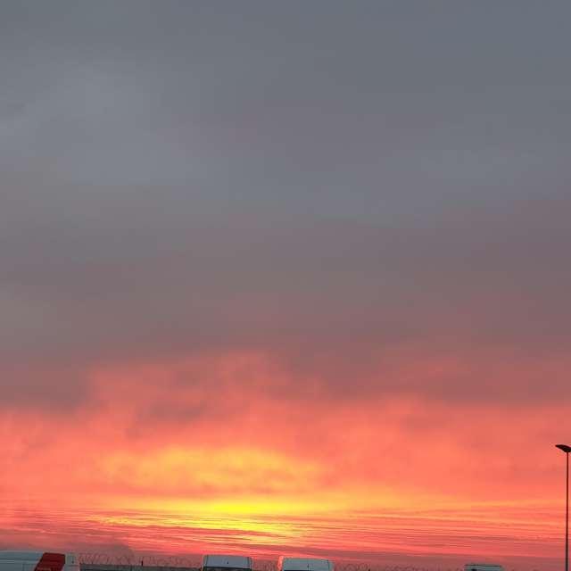 #Bucharest#winter#sunset