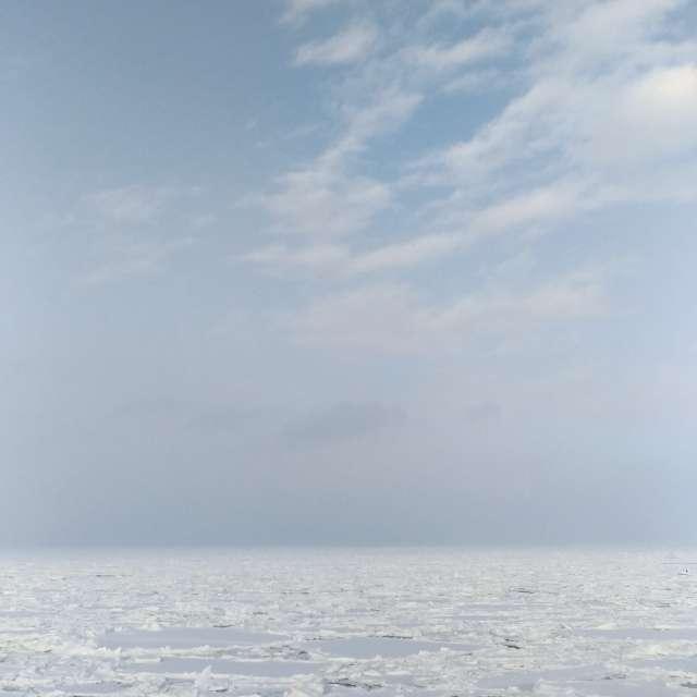 ice&sky/Abashiri, Hokkaido