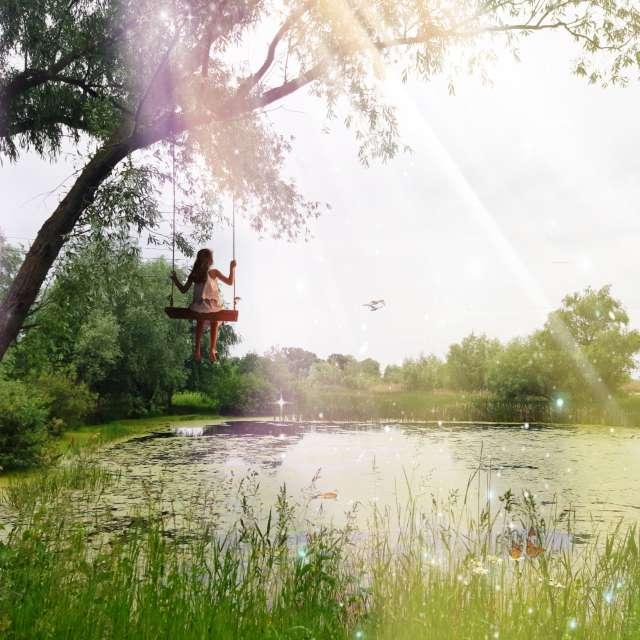 Сказочный сад.