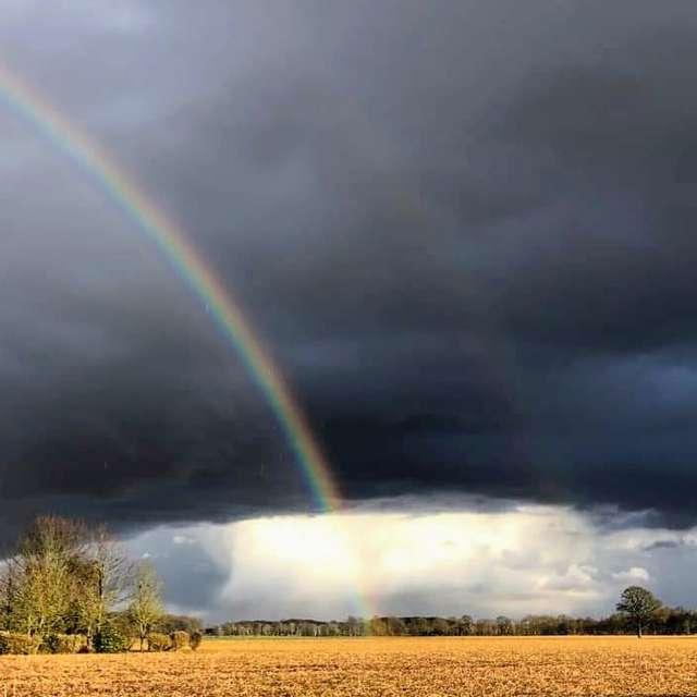 Rainbow after Thunderstrom