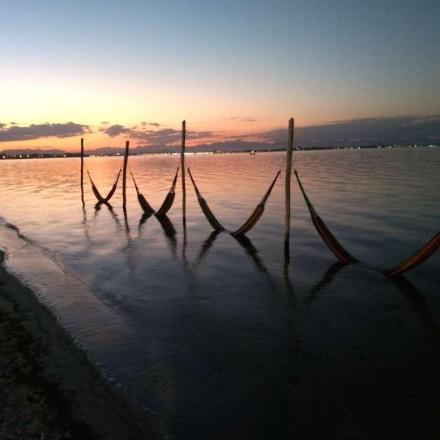 Redes da lagoa Araruama
