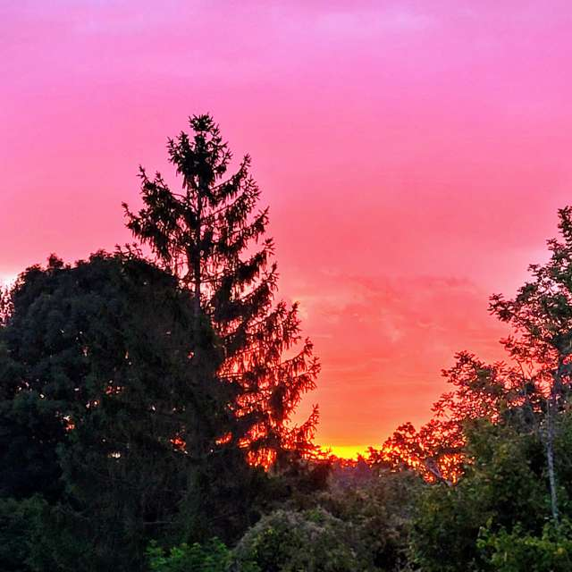 Lever de soleil - Septembre