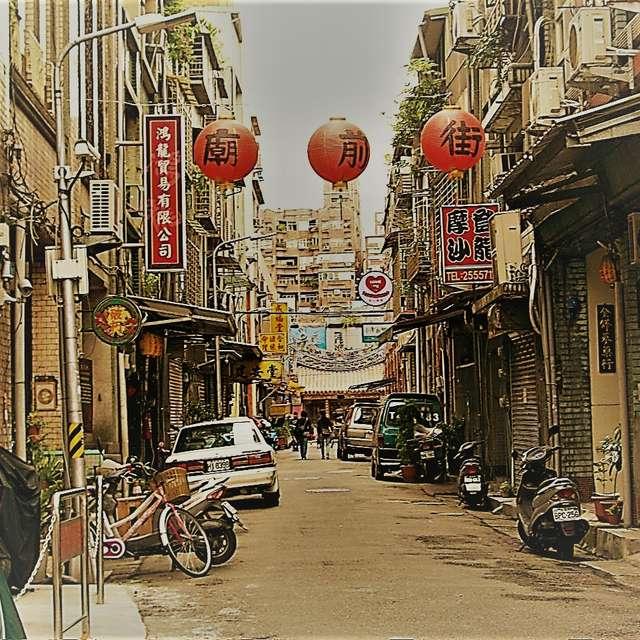 裏通り (台北/迪化街) An old alley