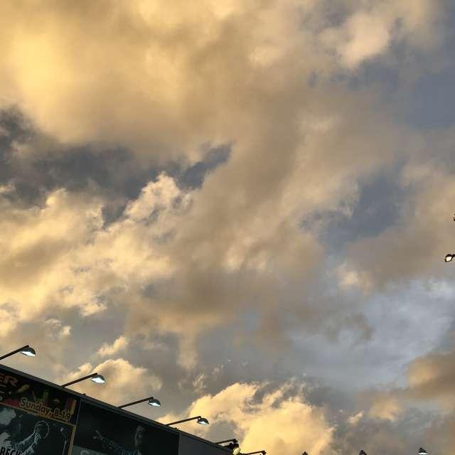 この日は色々な雲が見れました。