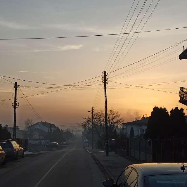 Saharyjski pył w Polsce