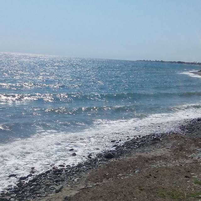 とてもきれいな海