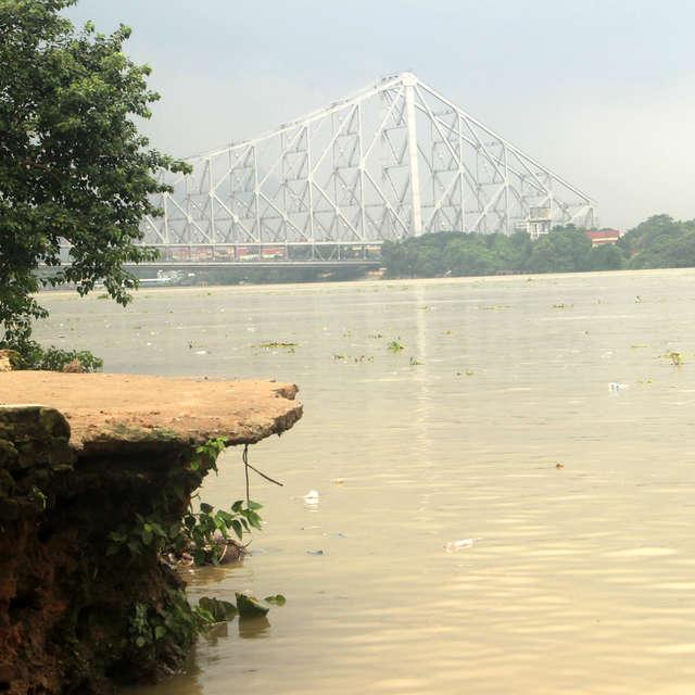 Ganga river erosion