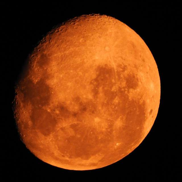 Moon, from VIC & NSW Bushfires