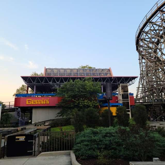 Gemini Roller-coaster