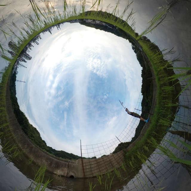 水田、360 degree