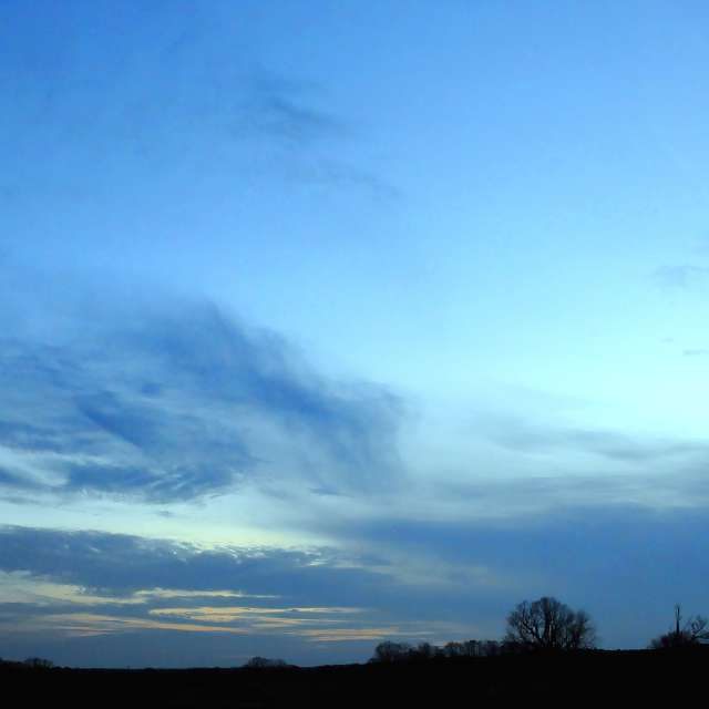 Grey and Blue Twilight