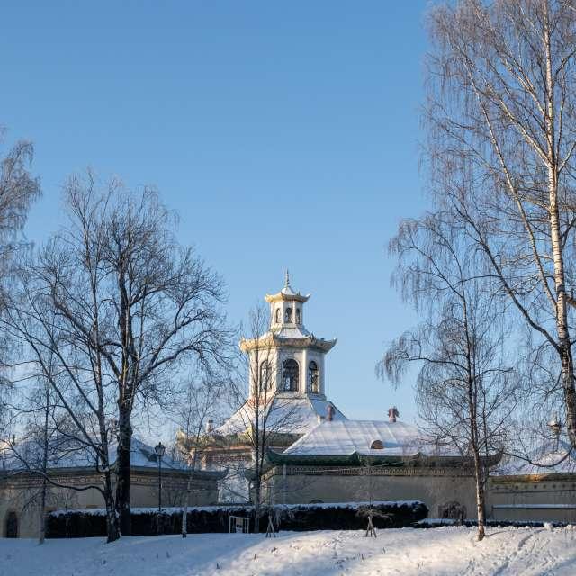Winter Time in Peterhof