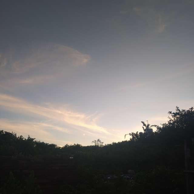 Final de tarde lindo