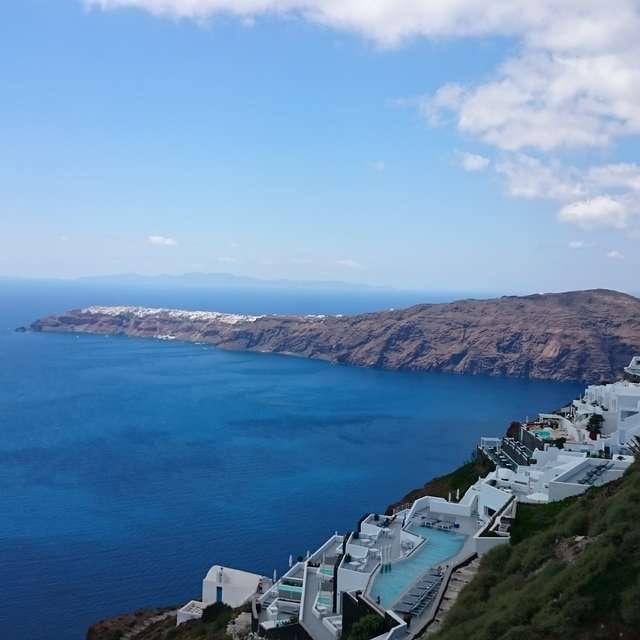 Stunning Santorini Ocean View