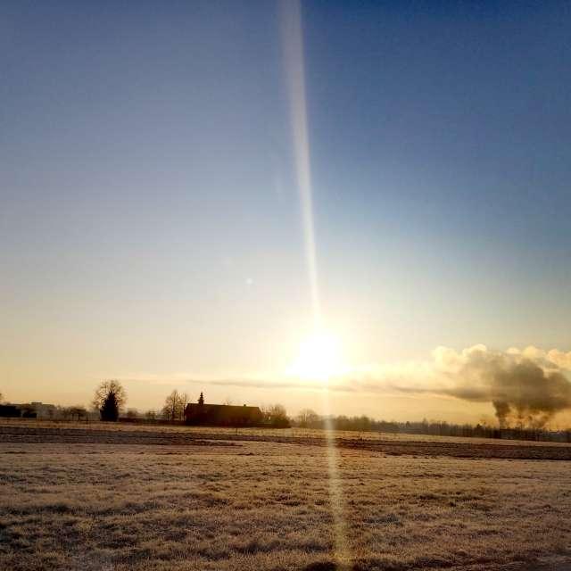 Winter morning 🌞❤️