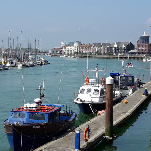 River Arun, Littlehampton UK