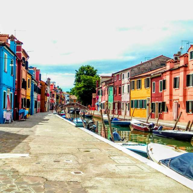 A magical day in Burano Italy.