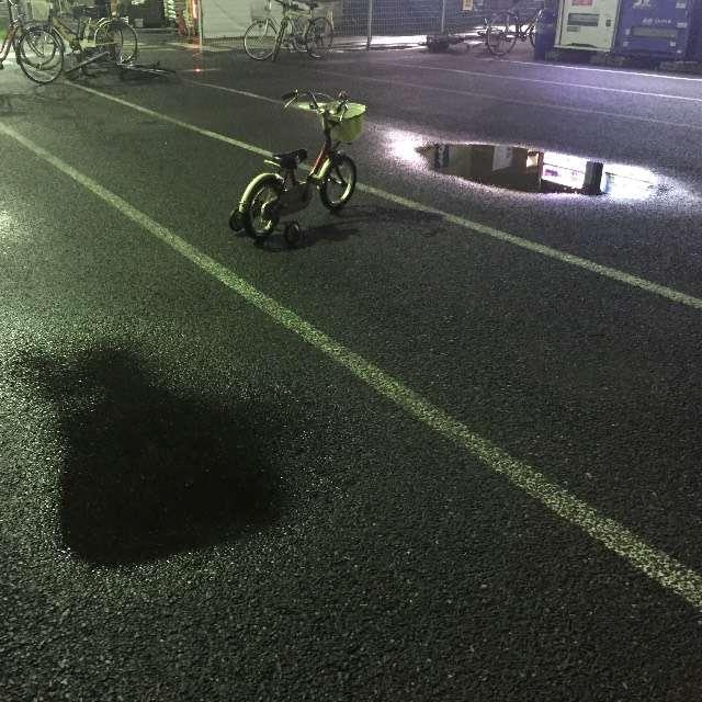 置き去り自転車