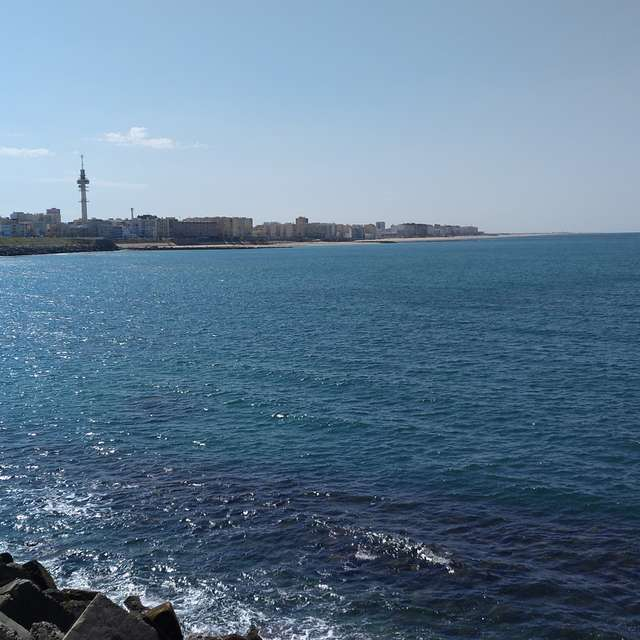 Paseo marítimo Cádiz