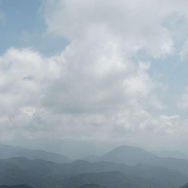 三国峠(東京オリンピック自転車ロードレースコース)からの丹沢