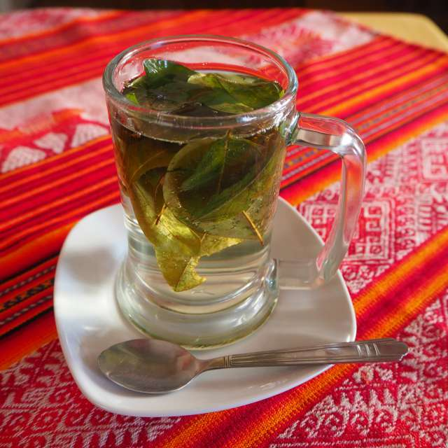 Tea from Andes mountains