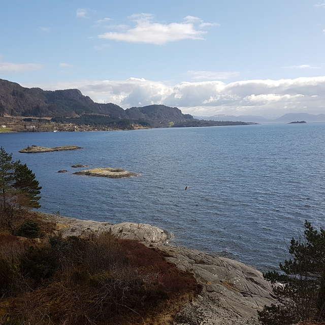 From Fusa camping, Hordaland
